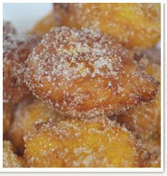 Good old South African style pumpkin fritters.
