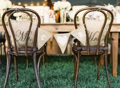Virginia Vineyard Wedding from Vicki Grafton Photography Wedding Chair Decorations, Wedding Chairs, Wedding Decor, Bridal Tips, Bridal Show, Burlap Chair, Virginia Wineries, Baltimore Wedding, Sweetheart Table