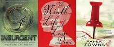 38 Books Becoming 2015 Movies  like Paper Towns by John Green, 50 Shades of Grey and The Ninth Life of Louis Drax.
