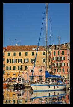 Savona port, Liguria, Italy