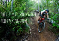Mountain bike trip packing guide by Sacred Rides