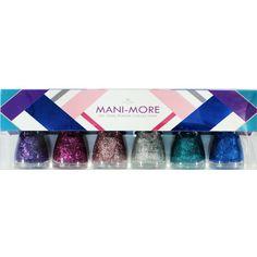 Bonita Nail Polish Collection Mani-more 6 Piece - Handbags, Bling & More!