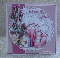8th Of March, December 11, Chloes Creative Cards, Create And Craft Tv, Tattered Lace Cards, Rose Frame, Bird Cards, Carnations, Hobbies And Crafts