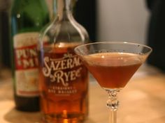 Red Hook - can't get me enough Rye. 2 oz Rye, 1/2 oz Punt e Mes sweet vermouth, 1/4 oz Maraschino, dash each of orange and Angostora bitters