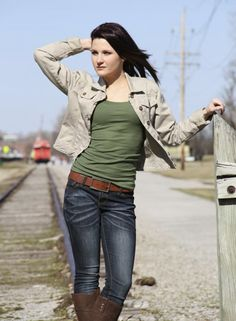 Photo by Nancy Eggert at Creve Coeur Camera's photo walk in Downtown St. Charles. Model: Anna Gill