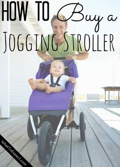Know what features to look for so you can get the jogging stroller of your dreams