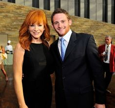 Reba McEntire and Her Son | Reba McEntire with son Shelby Blackstock at the 2011 Country Music ...