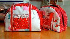 Sweet Little Handbag – Free Tutorial by Debbie Shore. I think this could scale up to make a nice weekend bag.