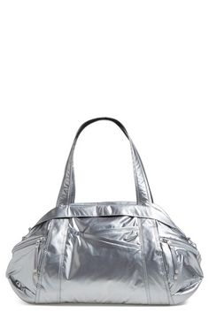 Nike 'Victory' Metallic Gym Duffel Bag available at #Nordstrom