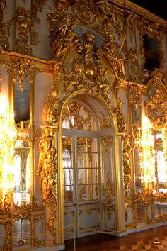 Door In Catherine's Palace