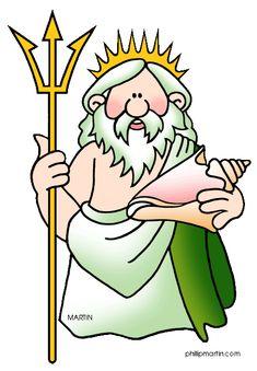 Myths About the Roman God Neptune for Kids - Ancient Roman Gods for Kids Jesus Cartoon, Roman Gods, Roman Mythology, Greek Gods, Ancient Romans, Ancient Greece, Cartoon Images, Clip Art, Kids