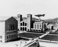 The Goodyear Blimp over UCLA in 1931