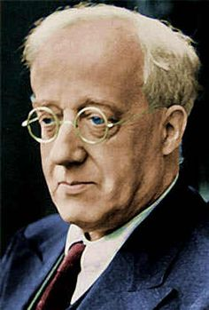 Gustav Theodore Holst (born Gustavus Theodore von Holst, 21 September 1874 – 25 May was an English composer. He is most famous for his orchestral suite 'The Planets'. Music Like, Sound Of Music, Music Stuff, Herbert Von Karajan, Gustav Holst, Andre Previn, Vaughan, Classical Music Composers, Jazz Guitar