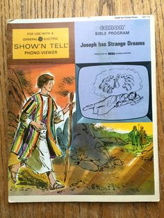 Show' N Tell Record Joseph Has Strange Dreams by LeftoverStuff
