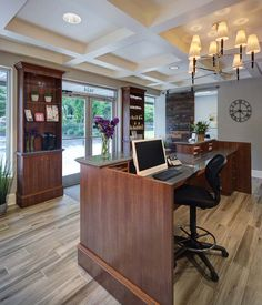 Integrated Medicine #Reception #desk   Front Desk Inspiration ...