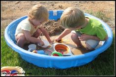 Mud pit for small spaces