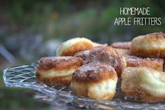 Saltwater Happy's Homemade Apple Fritters