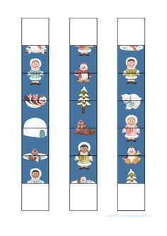 Tiles for the eskimo domino game. Find the belonging board on Autismespektrum on Pinterest.