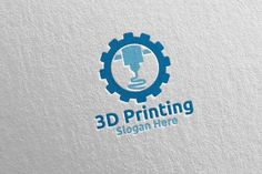 Printing Company Logo Design 55 by denayunebgt on 3d Printing Business, Business Brochure, Business Logo, Printing Companies, Monogram Design, Monogram Letters, Draw Logo, Hipster Logo, Vector Logo Design