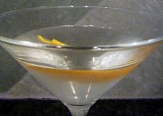 Vesper:          3 ounces dry gin      1 ounce vodka      1/2 ounce Kina Lillet (Lillet Blanc)        Shake together the ingredients in an iced cocktail shaker, straining into a cocktail glass, and garnish with either an orange or lemon peel.
