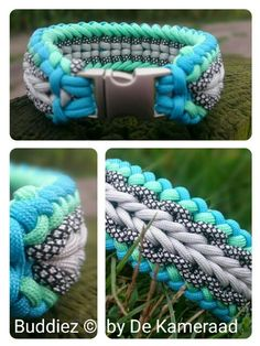 Halsband paracord endless falls/ chain