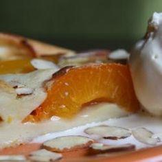 Abrikozen-perzik clafoutis