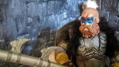 """Lotr dwarf warrior custom 6"""""""
