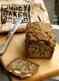 Josey Baker's Adventure Bread - please use gluten free oats #breadrecipe