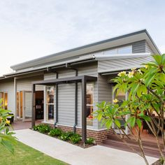 Skillion roof, weatherboard nice & simple yet excellent design
