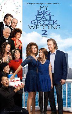My Big Fat Greek Wedding 2 - Not as good as the original, but still entertaining. I wish Nia Verdalos would make more movies!