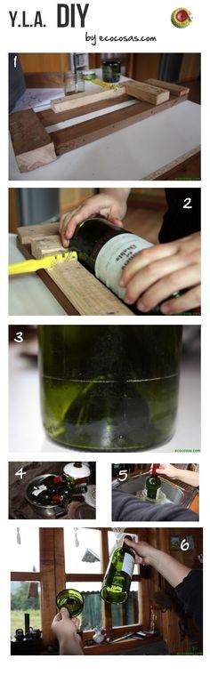 Cómo cortar botellas [DIY]   youloveapple