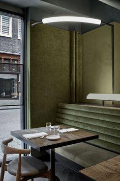 Wyers Restaurant & Bar by Studio Modijefsky