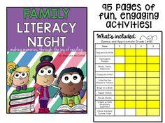 Principal Principles: Family Literacy Night School-wide Event K-3