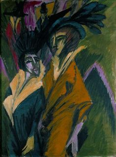 Great Works: Two Women in the Street (1914) by Ernst Ludwig Kirchner | Great Works | Culture | The Independent