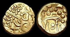 Norfolk Wolf r. Gold Stater, c65-45BC