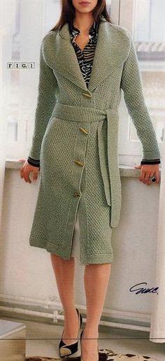 Поиск клуб осинка вязание пальто