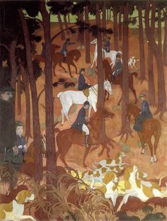 Maurice Denis (French, 1870 - 1943) Legend Of Saint-Hubert, N/D Oil on canvas Musée de Maurice Denis, Paris, France