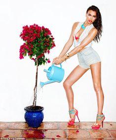 Model Irina Shayk for Canadian female clothing retailer Dynamite