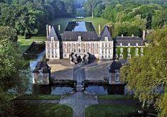 Château de Courances, Courances, Essonne, France