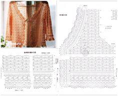Very prętty crochet top pattern