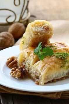 DIMA SHARIF: Ottoman Ramadan Food & Food Traditions - Baklava
