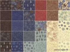 Winter Forest Flannels Layer Cake - Holly Taylor - Moda Fabrics