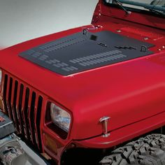 Poison Spyder Customs Hood Louver for 87-14 Jeep® Wrangler YJ, TJ & JK