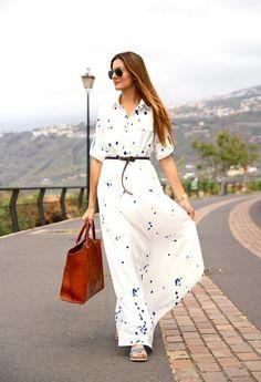 40 de rochii maxi superbe. Cum și cu se poartă rochiile lungi - Perfect Ask