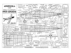Piper Comanche - plan thumbnail