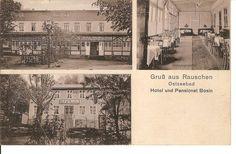 PK,gelaufen Ostpreußen Rauschen Hotel Bosin 3.8.15