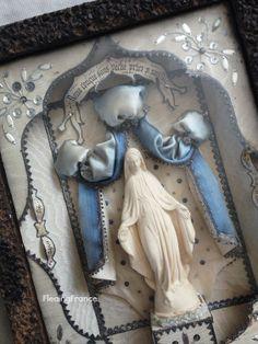 FleaingFrance.....RARE Lordes Reliquaire