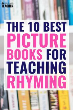 If you're working on rhyming, you need to add these 10 books to your shelf! Practice rhymes with your readers while enjoying excellent stories! Reading Lessons, Teaching Reading, Reading Fluency, Rhyming Activities, Rhyming Riddles, Book Activities, Third Grade Reading, Early Reading, Nonsense Words
