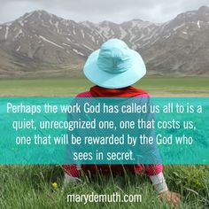 When your worth is determined by your work: an encouragement for the weary. http://www.marydemuth.com/joy-completed-work/