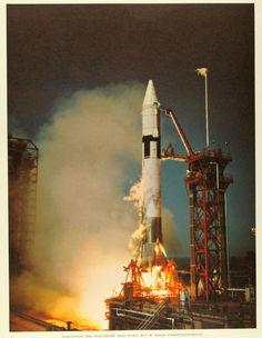 First Atlas-Centaur launch | Title: First Atlas-Centaur laun… | Flickr
